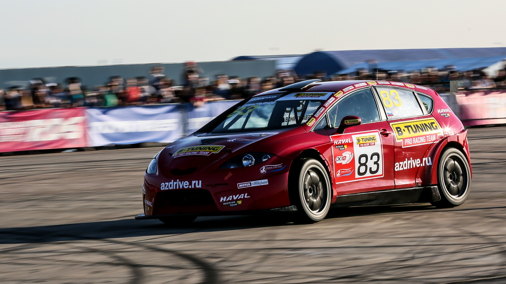 Seat Leon Supercopa - команда B-Tuning Pro Racing Team